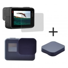Set van 2 screen- en lensprotectors voor GoPro Hero 5/6/7