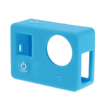 Silicone Case Blauw voor GoPro Hero 3/3+ zonder LCD BacPac
