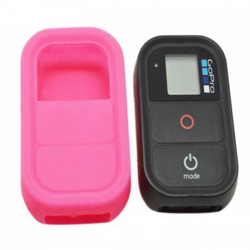 Silicone Cover Roze voor GoPro WIFI Remote